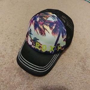Tropical Roxy Trucker Youth Hat